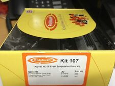 POLYBUSH KIT107 MG ROVER MGTF DYNAMIC ORANGE IN STOCK READY