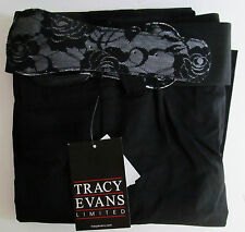 Tracy Evans, Size 0, Black Pants with Belt, New with Tags