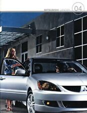 2004 04 Mitsubishi Lancer original Sales brochure MINT