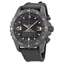 Breitling Mens Chronospace Military Black Quartz Swiss Watch M7836622-BD39GCVT