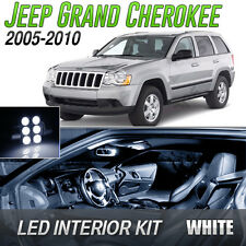 2005-2010 Jeep Grand Cherokee White LED Lights Interior Kit