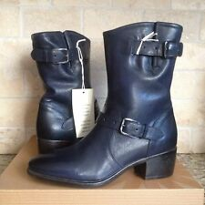 UGG COLLECTION CONCHETTA INDIGO LEATHER BOOTS SIZE US 9 / EUR 40 NEW! #1004606