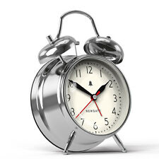 Newgate New Covent Garden Alarm Clock Chrome