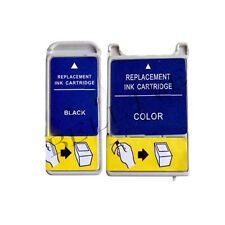 2 CARTUCCE COMPATIBILE PER EPSON T019 T020 Stylus Color 880 / Stylus Color 880i