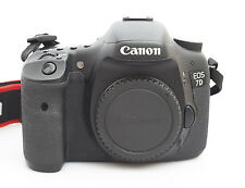 Canon EOS 7d (solo chassis) Shutter Count 69861 inneschi