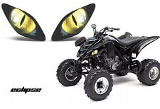 yamaha raptor 700 660 yfz 450 350 yfz450 quad headlight stickers Graphics Eyes