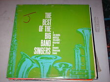 Best Of The Big Band Singers-various-mono Lp-columbia