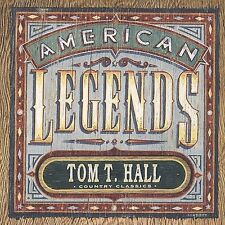 "TOM T. HALL, CD ""AMERICAN LEGENDS, COUNTRY CLASSICS"" NEW SEALED"