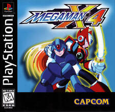Mega Man X4 - PS1 PS2 Playstation Game Only