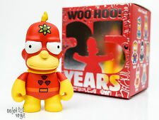 Radioactive Man - The Simpsons 25th Anniversary x Kidrobot  Vinyl Figure New