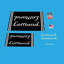 LeMond Versailles Bicycle Decals, Transfers, Stickers n.40