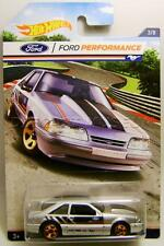 1992 '92 FORD MUSTANG FOX BODY FORD PERFORMANCE 3/8 HOT WHEELS DIECAST 2016