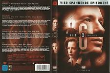 Akte X The X-Files / 4 Episoden 17-20 (Trevor-Milagro-Suzanne-Ex) / DVD #12208