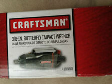 Craftsman 3/8 in. Butterfly Impact Wrench (91980)