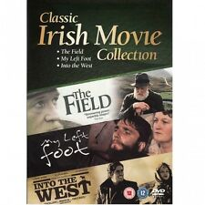 The Field - My Left Foot - Into the West | NEW TRIPLE DVD IRISH MOVIE BOX SET