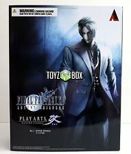 "Final Fantasy VII 7 Advent Children ""Rufus Shinra"" Play Arts Kai Action Figure"