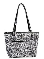 Simon Chang Lunch Bag Insulated Box Handbag Tote For Woman Cheetah  NWT