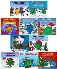 NEW x 10 MR MEN Little Miss CHRISTMAS  12 days Tree White Night before Father