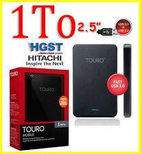 "1To 2.5"" HGST Touro Disque dur externe portatif HDD 1000 Go USB3.0"