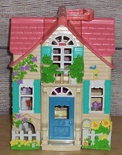 2000 Fisher Price Loving Family Sweet Streets COUNTRY COTTAGE Doll House Mattel