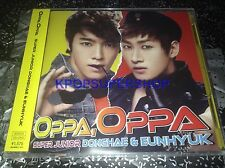 Super Junior Donghae Eunhyuk Oppa, Oppa CD DVD Photocard Limited NEW Sealed  OOP