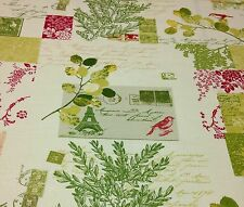 "RICHLOOM BRIGITTE GARDEN FRENCH SCRIPT PARIS FLORAL FABRIC BY THE YARD 54""W"