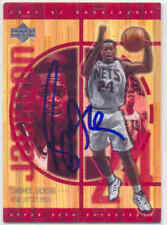 STEPHEN JACKSON NEW JERSEY NETS SIGNED CARD SAN ANTONIO SPURS PACERS WARRIORS