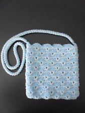 Girls crochet handbag with(out) embellishment Frozen/Cinderella/My Little Pony 4