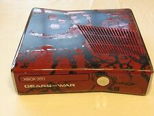 xbox 360 console 1439 Slim RARE Gears of War edition AS IS system missing HD