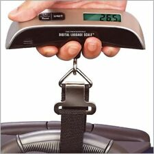 50KG PORTABLE HANDHELD ELECTRONIC DIGITAL LCD TRAVEL LUGGAGE WEIGHING SCALE