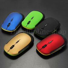 New Slim Mini USB Wireless Optical Wheel Mouse Mice for All Laptop HP Dell