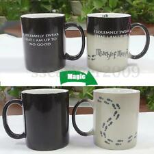 Tea Milk Cup Magic Heat Change Color Coffee Sensitive Reactive Ceramic Mug Gift