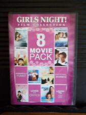 Girls Night! Film Collection: 8 Movie Pack (DVD, 2011, 2-Disc Set) Like New