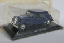 UH Presse 1/43 - Citroen Traction 15 6 H 1955 Bleue