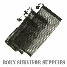 3 x MESH STORAGE BIT BAGS - Ditty Bag Set, Storage, Camping, Survival, Bushcraft