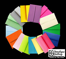 Lot 50 Boxed Assorted Colored Greeting Card Envelopes A2 4 3/8 x 5 3/4 Showers