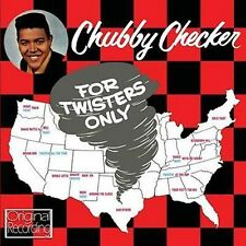 CD CHUBBY CHECKER FOR TWISTERS ONLY BLUEBERRY HILL HOUND DOG TWIST TRAIN ETC