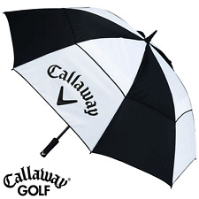 """50% OFF"" CALLAWAY 60"" DUAL CANOPY WIND RESISTANT GOLF UMBRELLA / GOLF BROLLEY"