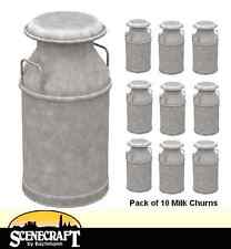 Bachmann 44-521 Milk Churns x10 OO Gauge for Model Railways