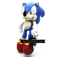 SONIC THE HEDGEHOG PELUCHE pupazzo plush riccio Adventure 2 Heroes mario colors