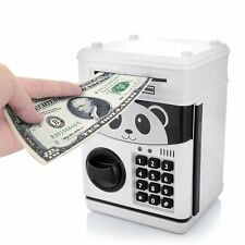 Jhua Cartoon Piggy Bank Cash Coin Can Password Electronic Money Bank Safe Saving