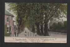 DORCHESTER 1904 South Walk. Children Girls Hoop vintage postcard  zc.317