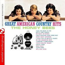 Honey Bees - Great American Country Hits [New CD] Manufactured On Demand