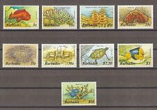 BARBADOS 1986 796a/809a Fresh MNH Cat £27