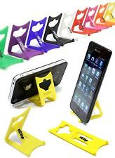 iPhone 4G 4S 5 6 Holder YELLOW Folding Travel iClip Desk Display Stand /Rest: