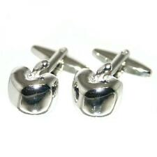 Apples Cufflinks Fruit Seller Adam & Eve Cruise Party Formal Present Gift Box
