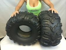 2 New 25x11-10 ATV Sedona Mud Rebel Tires  25x11x10   25 11 10 set lite