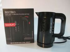Bodum Bistro Cordless Electric Water Kettle, Black - 17 Oz NEW