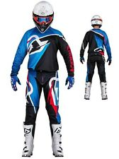 MAGLIA PANTALONI CROSS ENDURO ACERBIS MX PROFILE NERO BLU ROSS 2016 TG 34(50) L