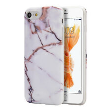 Luxury Marble Design Pattern Soft TPU Phone Case Cover for Apple iPhone 7 7 Plus